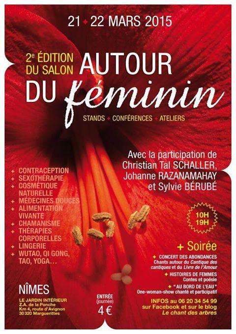 Salon «autour du féminin» – 2ème édition – 21 et 22 mars