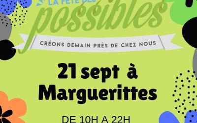 Fête des possibles et Portes ouvertes – 21 sept 2019