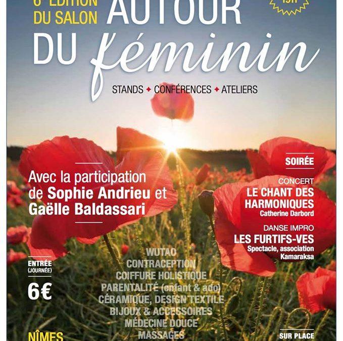 SALON «Autour du féminin» les 29 et 30 août 2020