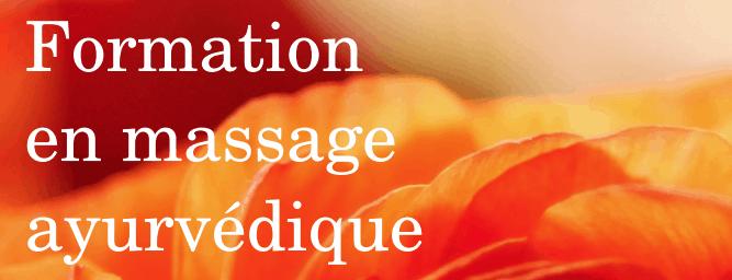 Apprendre le massage ayurvédique avec 2 formateurs passionnés