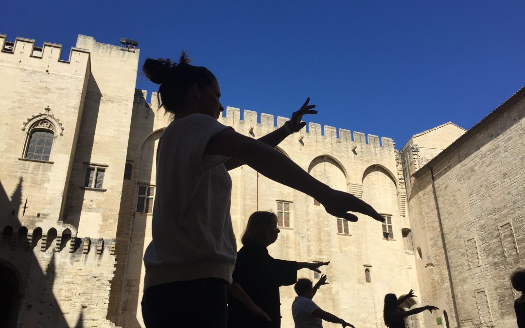 VIDEO – Le rassemblement 2019 de tai chi chuan au Palais des Papes, par l'ITCCA Avignon