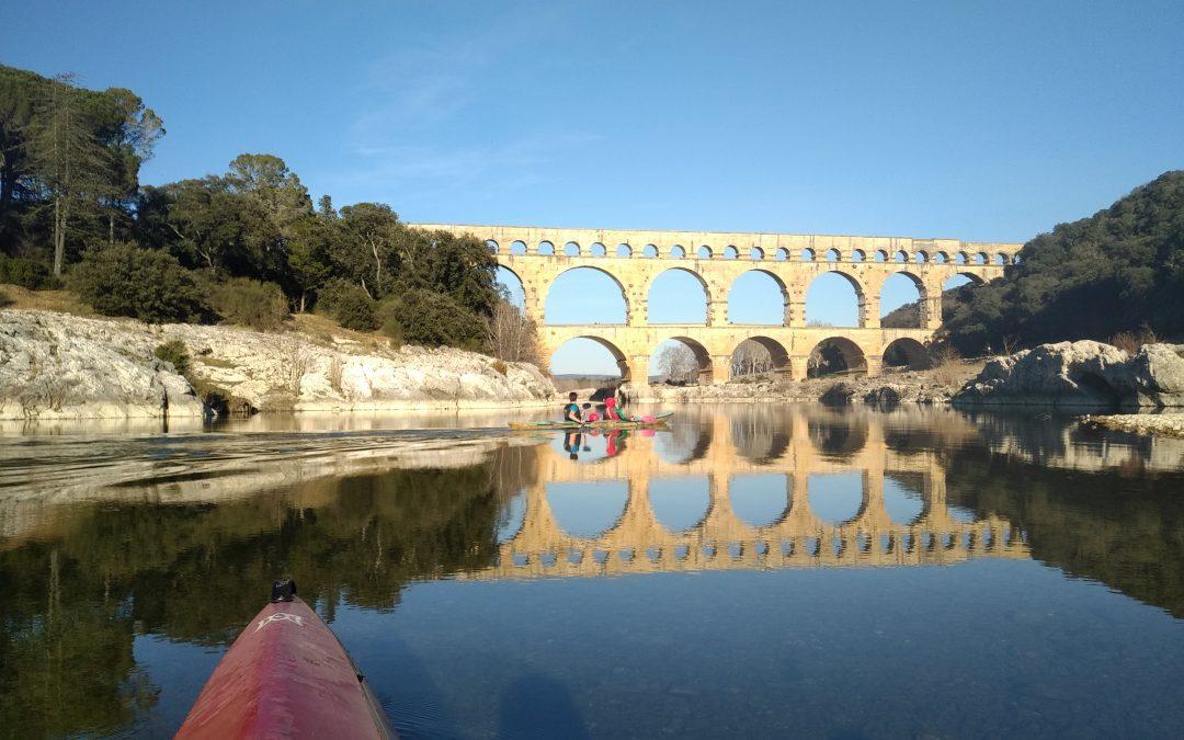 Sortie nature : Kayak et Tai Chi Chuan au Pont du Gard