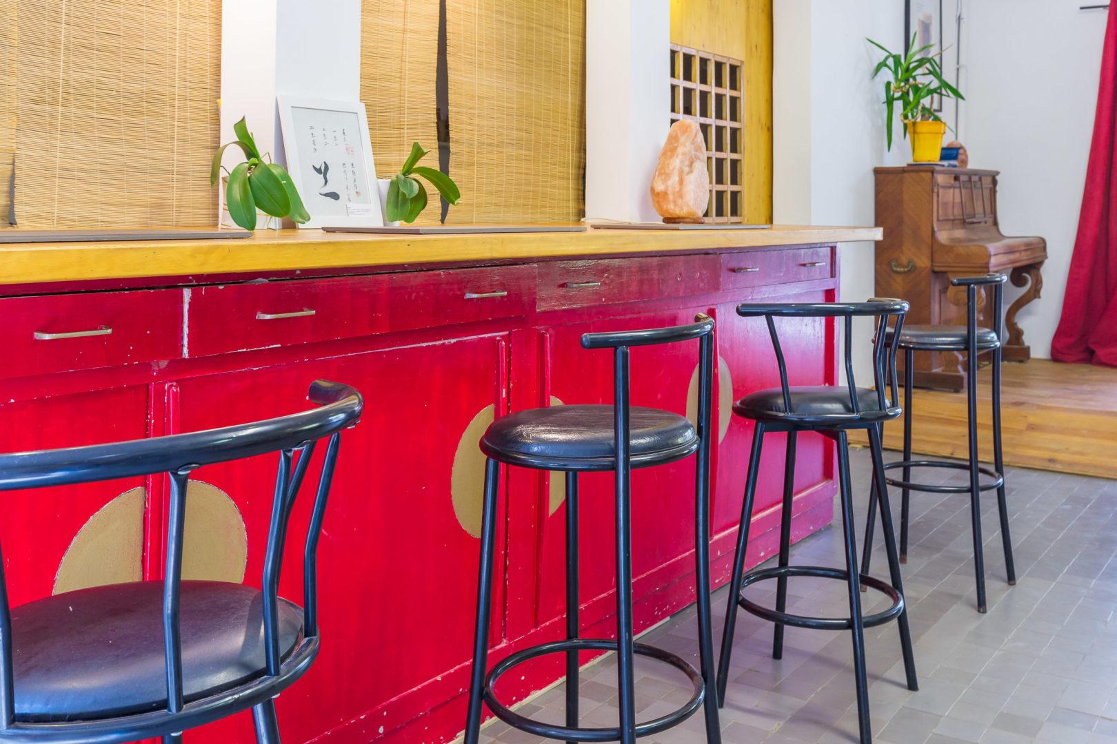 le salon - le bar
