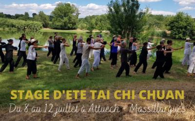 Stage d'été Tai Chi Chuan – du 8 au 12 juillet