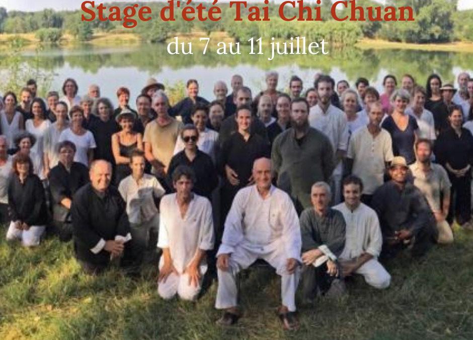 STAGE d'été Tai Chi Chuan – du 7 au 11 juillet