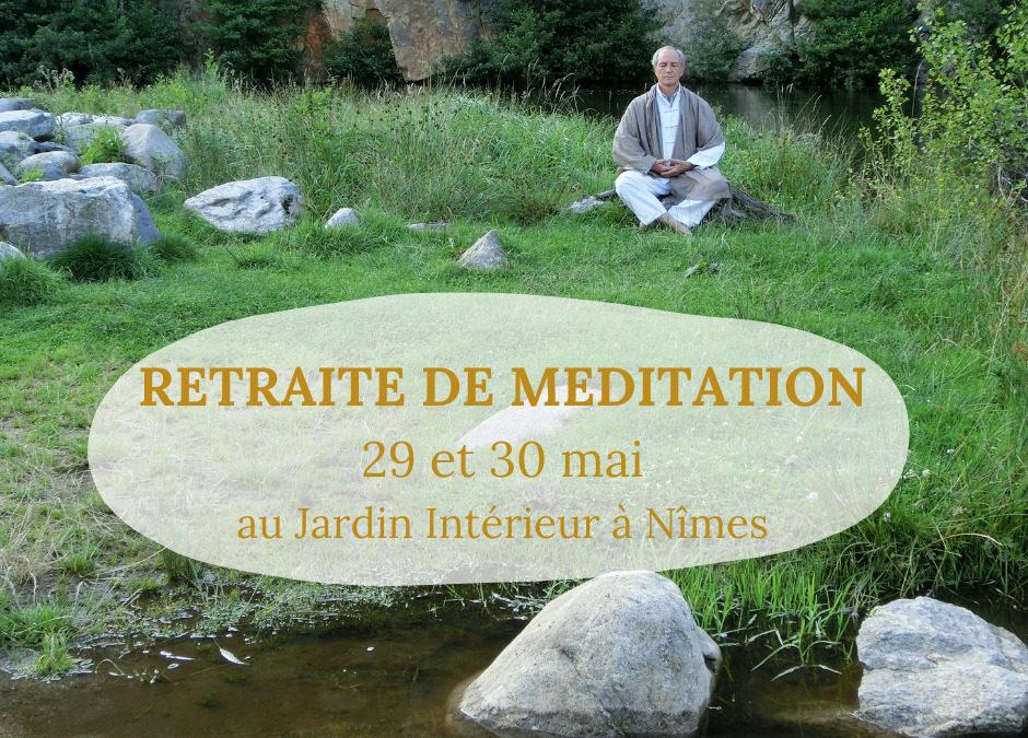 STAGE – retraite de méditation du 29 au 30 mai avec Lou Yan