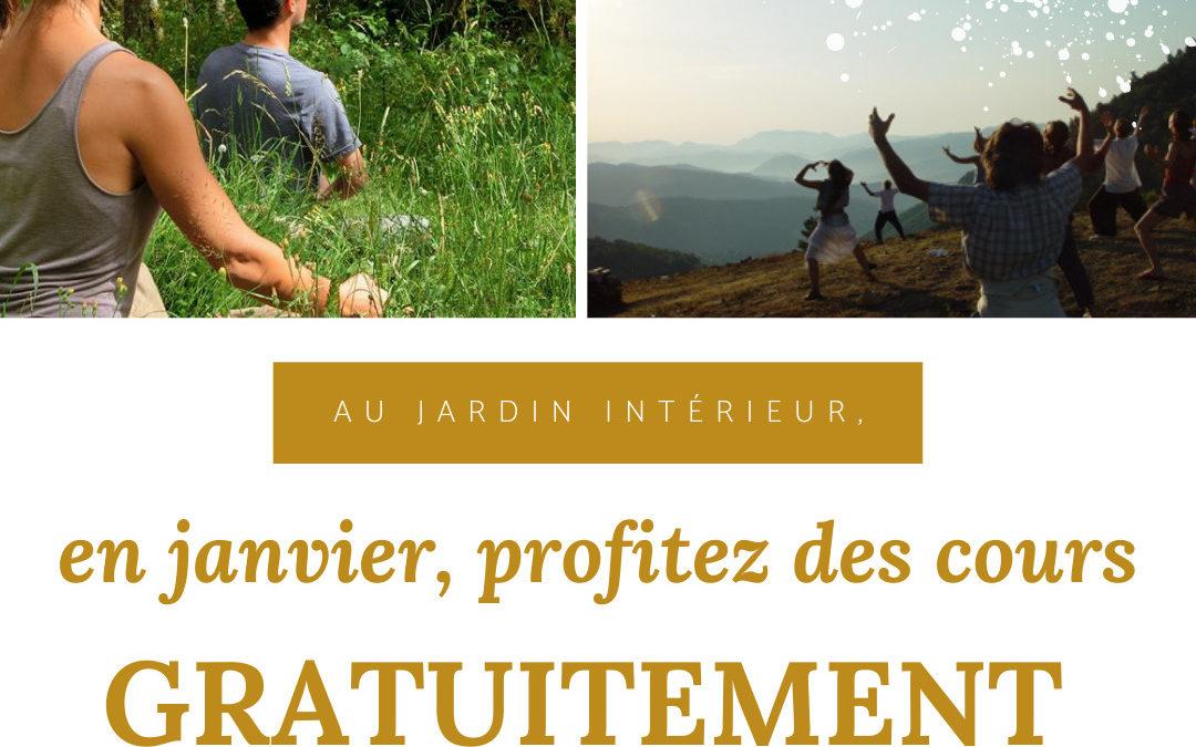 EN JANVIER Séances gratuites et en illimitées à Nîmes et Montpellier