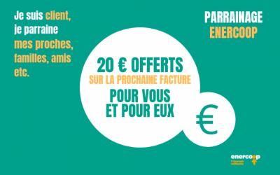 PARTENAIRE – Notre fournisseur d'électricité verte : Enercoop