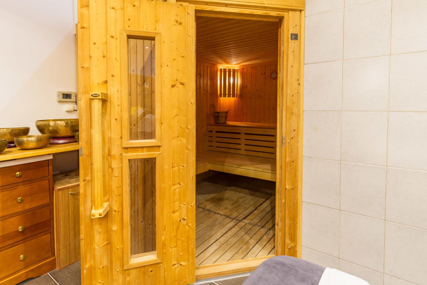 spa - le sauna